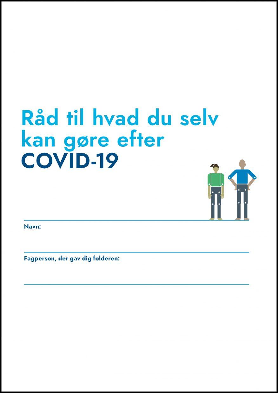 Folder: Råd til hvad ud selv kan gøre efter COVID-19