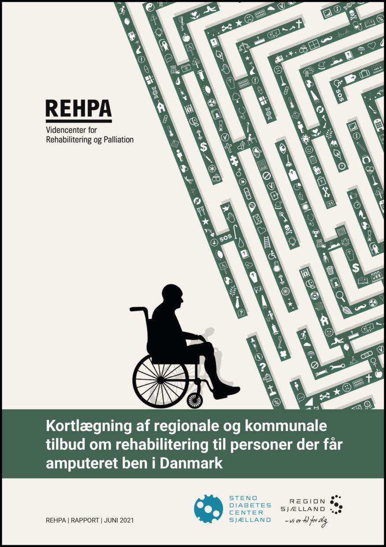 Forside Kortlægning af regionale og kommunale tilbud til personer der får amputeret ben i DK