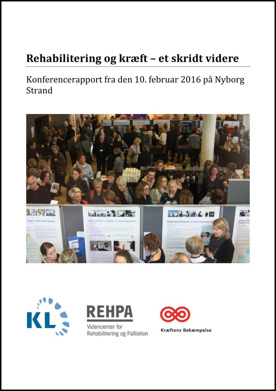 REHPA-rapport forside af konferencerapport 2016